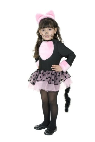 CHILD Medium 8-10 - Miss Pretty Kitty Costume (Shoes/Makeup/Tights Not (Kitty Costume Makeup)