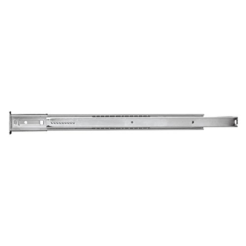 Hickory Hardware P1029/12-2C 12-Inch Center Mount Drawer Slide, Cadmium