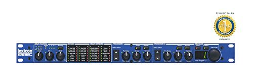 Multi Processors Lexicon Effects (Lexicon MX200 Stereo Reverb/Effects Processor with 1 Year Free Extended Warranty)
