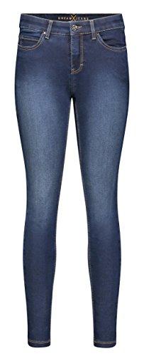MAC Dream Skinny, Vaqueros Ajustados para Mujer Blau (Dark Blue D826)
