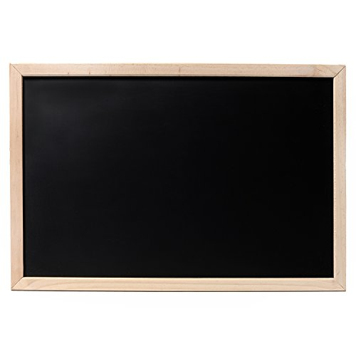 "Cedar Markers 17""x11"" Chalkboard With Wooden Frame. Erasable Blackboard For Chalk Markers."
