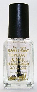 Barry M Nail Paint - Clear 3in1 Basecoat, Topcoat & Nail Hardener (54) TRTAZI11A