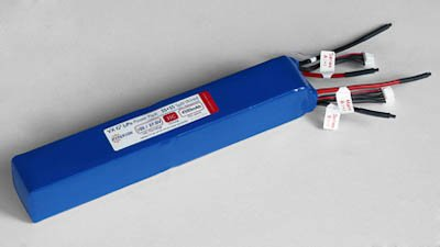 G3 VX Hyperion 4500 Mah 8S 29.6V 35C/65C Lithium Polymer Split Battery