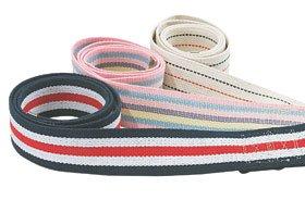 Pinstripe Buckle (Alimed Gait Belt - Pinstripe with Metal Buckle, 54