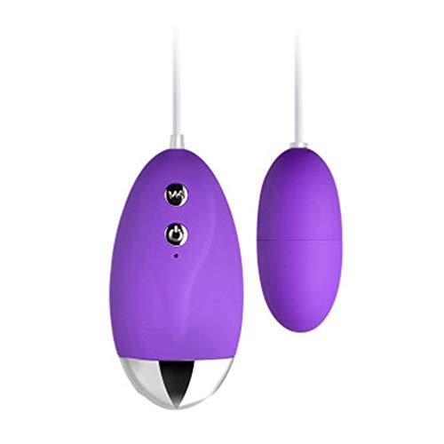 Women Waterproof Love Egg Bullet with Muti-Frenquency, Purple