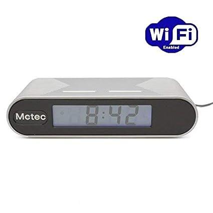 Camara espia WIFI en reloj despertador 1080p con IR y deteccion de movimiento PV-FM20HDWI