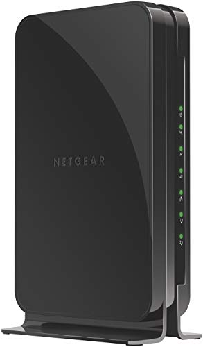 (NETGEAR Cable Modem with Voice CM500V - For Xfinity by Comcast Internet & Voice | Supports Cable Plans Up to 300 Mbps | 2 Phone lines | DOCSIS 3.0)
