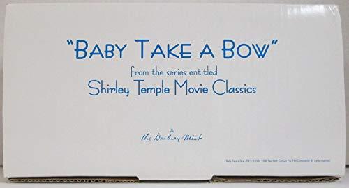 Danbury Mint Shirley Temple Baby Take A Bow