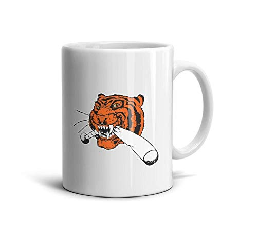 - oploiiiiuud Cups Insulated Ceramic Coffee Mug Detroit_Funny_Tigers baseballFashion Design Give Girlfriend Festival,Holiday,Brithday,Home Decor,Office} Souvenir Gift 11 oz Mug