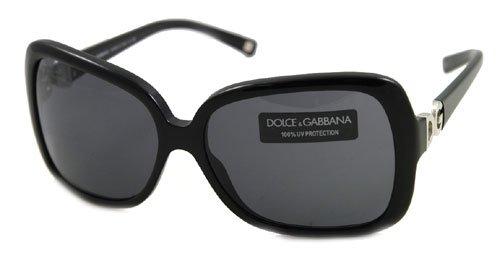 Amazon.com: AUTHENTIC DOLCE&GABBANA SUNGLASSES DG 4050 BLACK ...