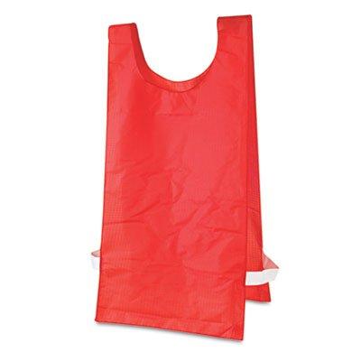 Champion Sports Heavyweight Pinnies, Nylon, One Size, Red, 1 ()