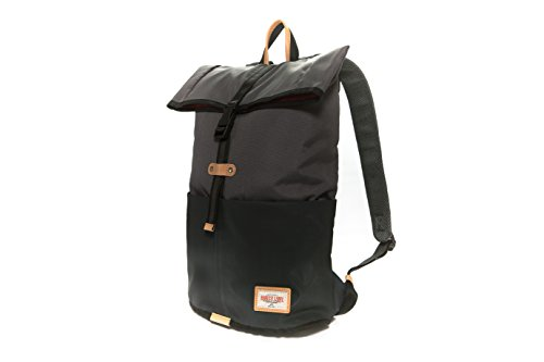 Harvest Label Connect Trekker Flaptop 15'' Laptop Backpack (Gray) by Harvest Label