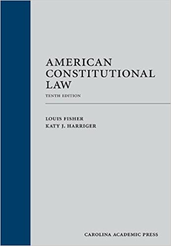 American Constitutional Law Tenth Edition