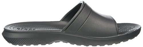 Crocs Unisex Sandalo Classico Scorrevole (grigio Ardesia)