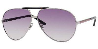Gucci Sunglasses - 1933 / Frame: Ruthenium Black Lens: Dark Gray ()