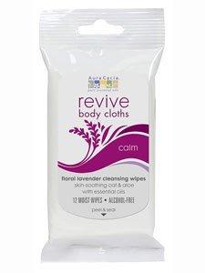 051381882709 - Revive Body Cloth Calm 12 Wipes carousel main 0