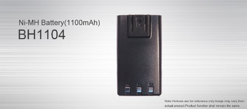 HYT BH1104 Battery for TC-500 Portable Two Way Radio