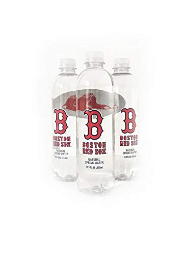 (Sports Water Boston Red Sox Water Bottle 16.9oz- 12pack- Pure Naturally Filtered)