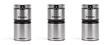 Westinghouse WCG21SSA Select Series Stainless Steel Electric Coffee and Spice Grinder – Amazon Exclusive 3- Pack