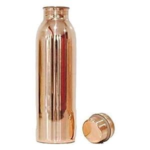 SDO Copper Yoga Water Bottle, 1000ML, Set of 1, Copper