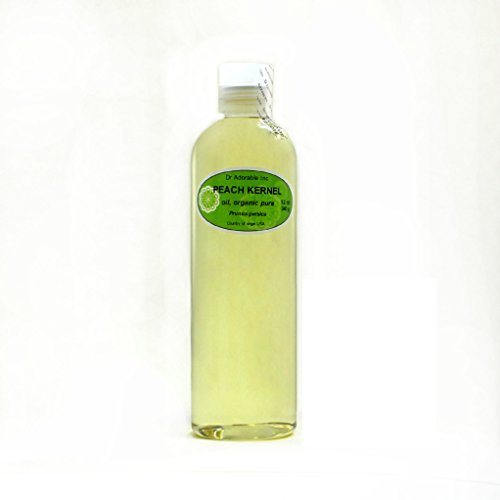 Premium Peach Kernel Oil 100% Pure Organic 12 Oz ()