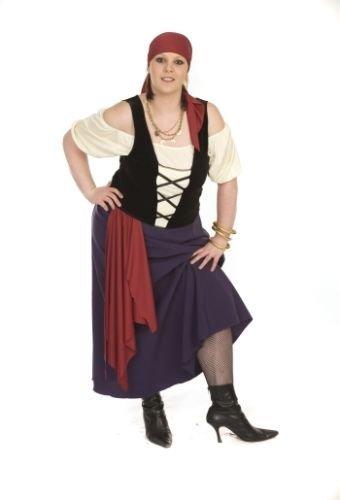 Ladies  3842 SteampunkVictorianLes MisStage BAWDY PIRATE Ladies Fancy Dress Costume  From Plus Sizes 1642 (Ladies  3842)