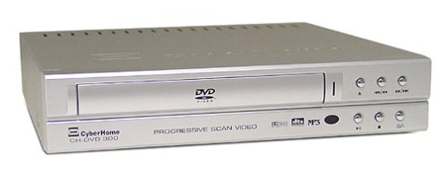 CyberHome CH-DVD 300S Progressive-Scan DVD Player , Silver