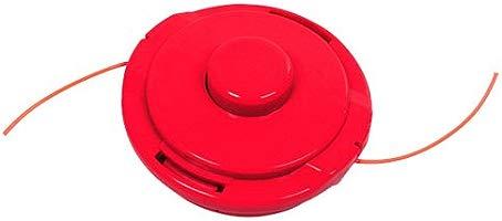 TIMBERTECH - Desbrozadora de 52ccm (Potencia del Motor 2,2 Kw) con Cubierta de protección – Color Rojo