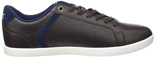 Braun Dark Derby Loch Brown Herren Levi's Sneaker pOxIqUpg