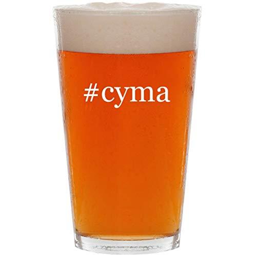 #cyma - 16oz Hashtag Pint Beer Glass