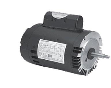 (A.O. Smith B2979 2HP 2 Speed 230V C-Faced Threaded Shaft)