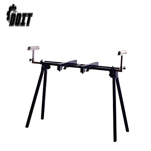 Doitpower Heavy Duty Miter Saw Stand Foldable Tool Equipment for Most Mitre Saw Max. Hold 440LB