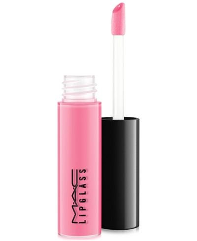 MAC Tinted Lipglass with Sponge Tip Applicator (Pink Nouveau)