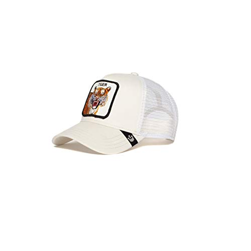 Goorin Bros. Exclusive Animal Farm Snapback Trucker Hat (Ivory) -