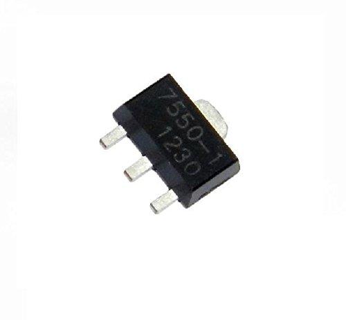 Quickbuying 10pcs HT7550-1 0.1A 5V Low Dropout Voltage Regulator IC LDO SOT-89 ()