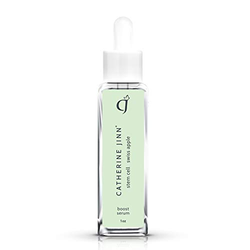 Swiss Apple Stem Cell Serum with Hyaluronic Acid by Catherine Jinn Skincare. Contains Antioxidants, PhytoCellTec to Hydrate & Promote Skin Cell Renewal