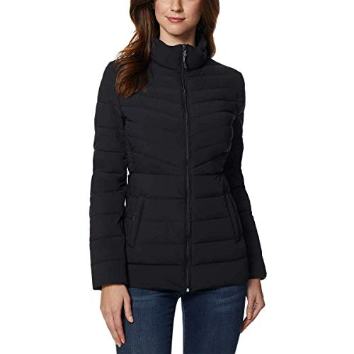 32 DEGREES Women Outerwear, BLACK4, S (Jackets Winter Womens Down)