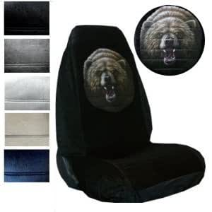 Amazon.com: Seat Cover Connection Grizzly Bear print 2
