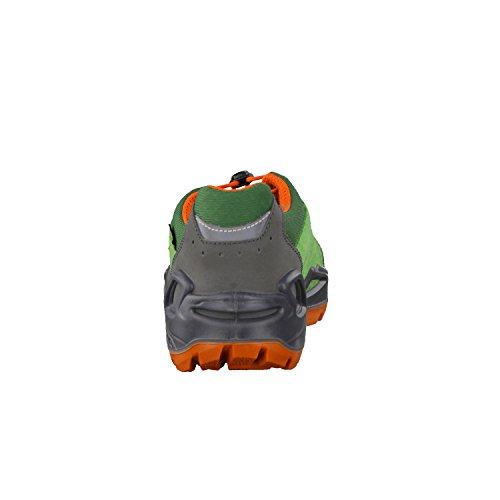Lowa Diego Gtx Lo - Botas infantiles para senderismo, unisex, color verde, talla 40