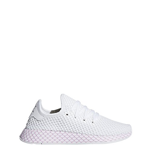adidas Originals Deerupt Runner Shoe - Women's Casual 9 White/Clear Lilac