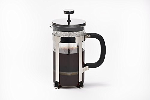 High End French Press Coffee Maker : French Press Coffee Maker by Real People 8 Cup 32 oz Coffee Tea Maker with Stainless Steel ...
