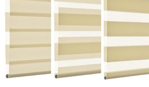 Gardinia 33340 Doppelrollo Silvalin silber, 140 x 160 160 160 cm mit weißer Aluminiumkassette B00JA4SZWC Seitenzug- & Springrollos ccfe85