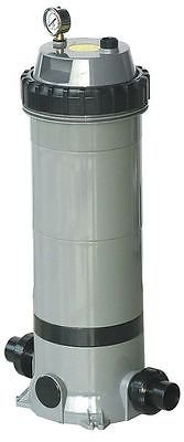 Dayton 4VMN4 Pool/Spa Filter, Cartridge, 24 5/8 Hi