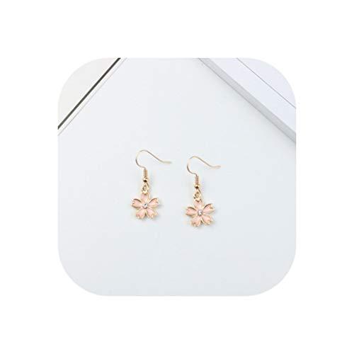 Cute Fruit Drop Earrings lovely Pineapple Watermelon Cherry Strawberry Plants earrings,flower ()