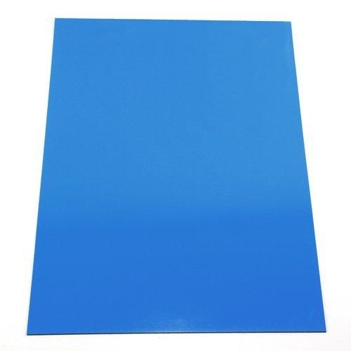 MAGNET Expert Ltd - Foglio magnetico flessibile, 297 x 210 x 0,85 mm, formato A4, per applicazioni artistiche, colore blu F4MA4B-1-AMZ