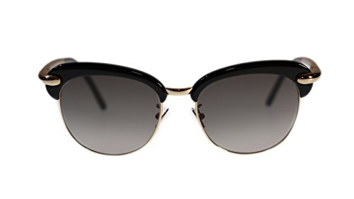 pomellato-sunglasses-pm0021s-001-black-with-grey-lens-round-52mm-authentic