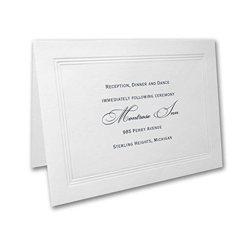 700pk Paneled - Reception Card-Reception Cards