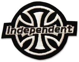 INDEPENDENT TRUCK COMPANY SKATEBOARD LOGO 10,0 CM Thermocollant Autocollant de Patch Broderies /Écusson Brod/é Patch