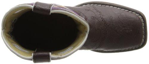 Durango Kids BT286 Lil' 8 Inch Saddle,Dark Brown/Purple,11M Little Kid by Durango (Image #7)