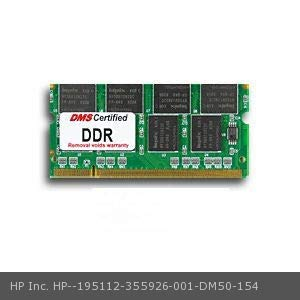 - DMS Compatible/Replacement for HP Inc. 355926-001 Business Notebook nx7010 512MB DMS Certified Memory 200 Pin DDR PC2700 333MHz 64x64 CL 2.5 SODIMM - DMS